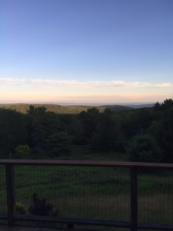 Blue Horizon Bed and Breakfast: Beautiful sunset view