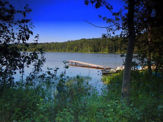 Rimbey, Canada: Boat launch