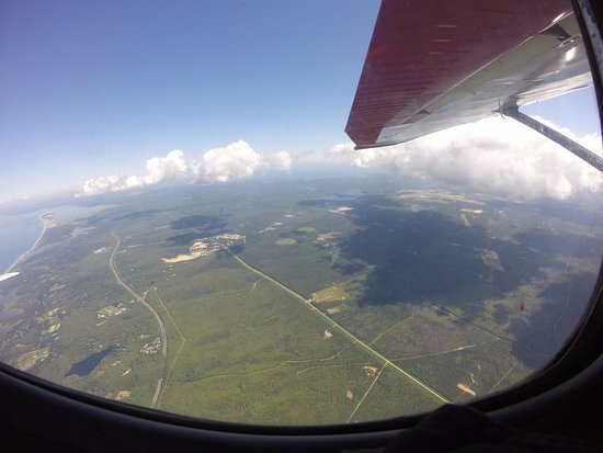 Marstons Mills, Массачусетс: View from the plane....