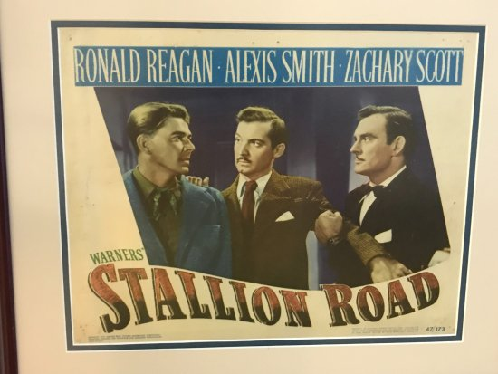 "‪‪Dixon‬, إلينوي: Movie poster of ""Stallion Road""‬"
