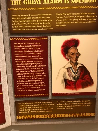 Dixon, IL: Blackhawk and why he organized the Indians to fight back