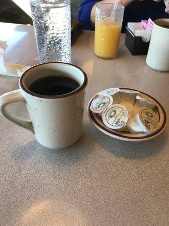 Crown Railroad Cafe: No cafe latte unfortunately.