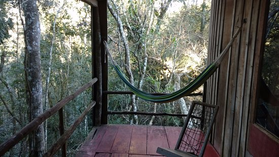 Posada La Bonita: vista desde el balcón de la cabaña