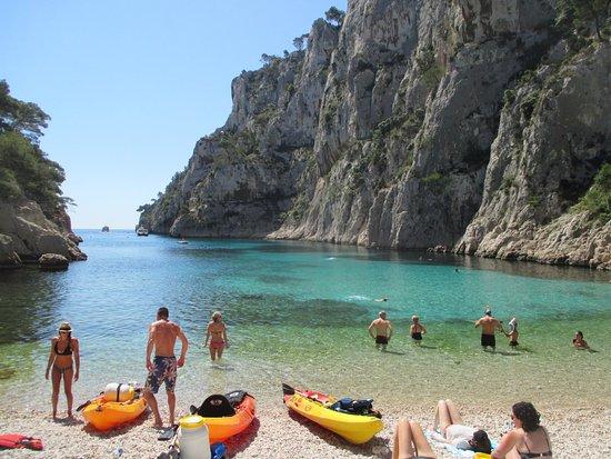 Calanque D En Vau Picture Of Destination Calanques Kayak Cassis