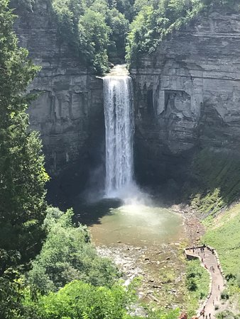 Trumansburg, NY: View of Taughannock Falls from the overlook