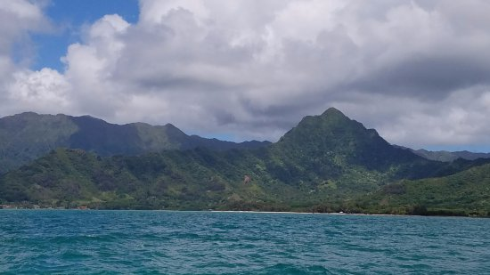 Kaneohe, Hawái: Kualoa Ranch Ocean Tour