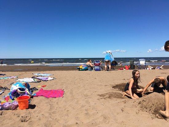 Cap-Pele, Canada: Superbe plage!