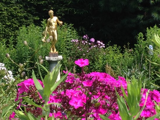 Cornish, Nueva Hampshire: In the gardens