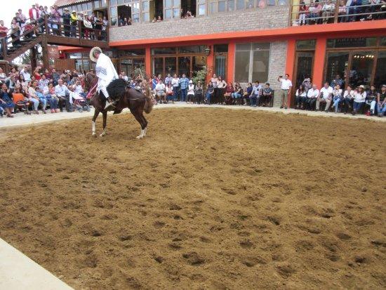 Lima Region, Peru: Another performance.