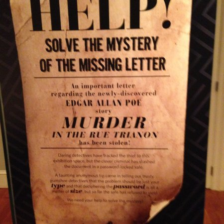"Rosenbach Museum and Library: Visitors can ""solve"" a murder mystery"