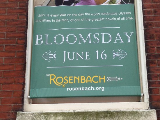 Rosenbach Museum and Library: A yearly reading of Ulysses