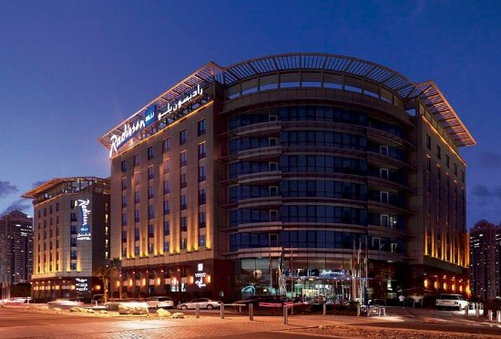 Radisson Blu Hotel, Dubai Media City: Exterior