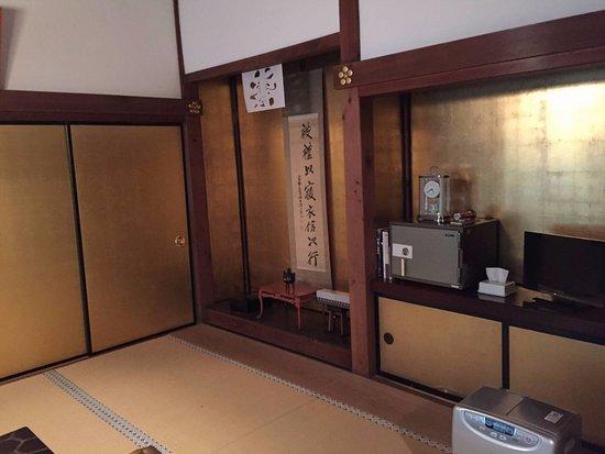Saizen-in : 部屋は、一人でしたが広々とした立派な和室でした