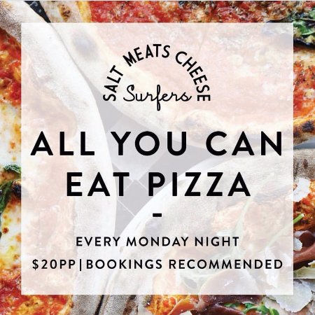 all you can eat pizza every monday night picture of salt meats