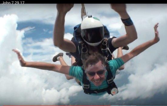 Zephyrhills, FL: Tandem Jump 7-29-17