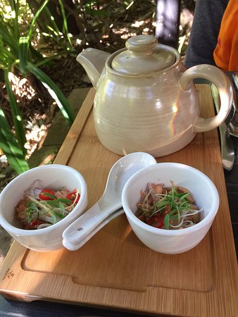 Yandina, Australien: smoked salmon soup