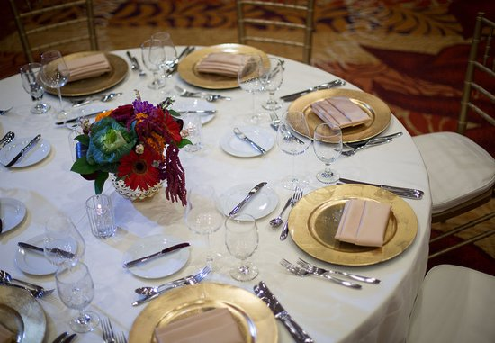 Seattle Airport Marriott: Ballroom – Banquet Setup Details