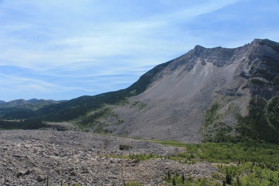 Crowsnest Pass, Canada: The Frank Slide