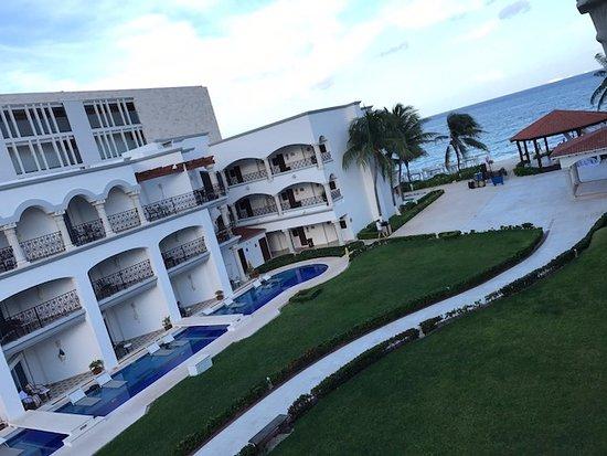 """The Royal Playa del Carmen: """"Ocean View"""" from Suite 381."""