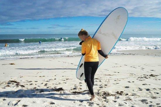 Scarborough, أستراليا: Beginner Surf_ Learn to surf in Australia