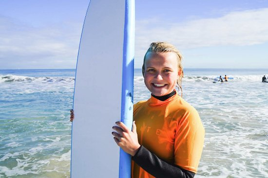 Scarborough, أستراليا: Surf School Perth. So many smiles! :)