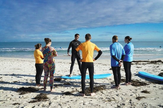 Scarborough, أستراليا: Surf Lessons Perth_How to surf