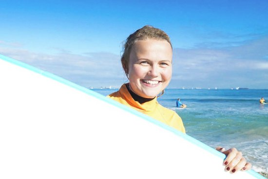 Scarborough, أستراليا: Surfing Courses Perth_ Smiles all round!