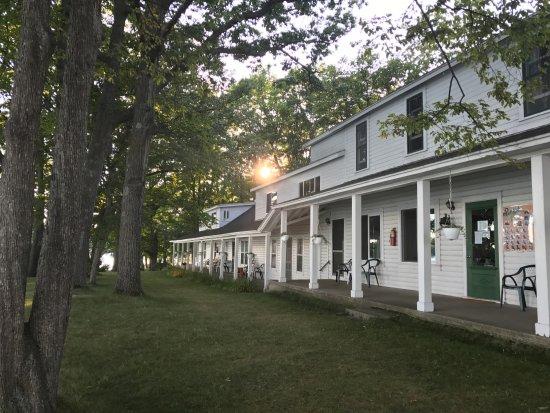 White Birch Lodge: The Lodge has the dining hall and dormitories as well as other accommodations