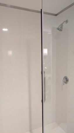 Narrow shower stall - Picture of Doubletree by Hilton Evansville ...
