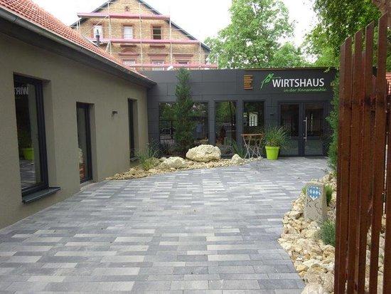 Alzey, Saksa: Eingangsbereich/Innenhof