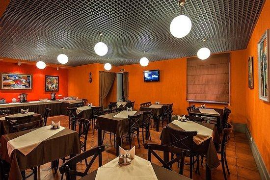 Nevsky Breeze Hotel: Nevsky Breeze Breakfast Cafe