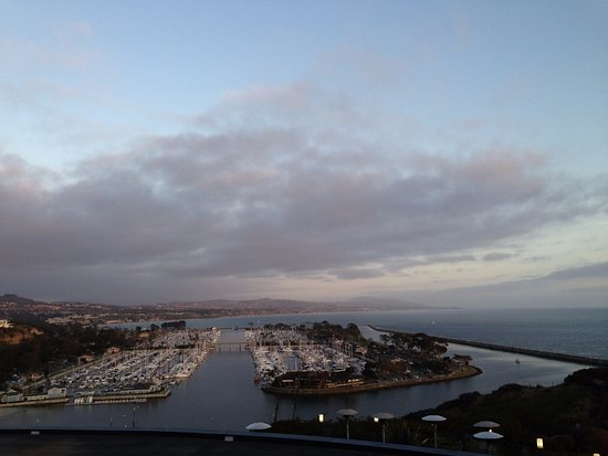 Dana Point, CA: View from above the Harbor