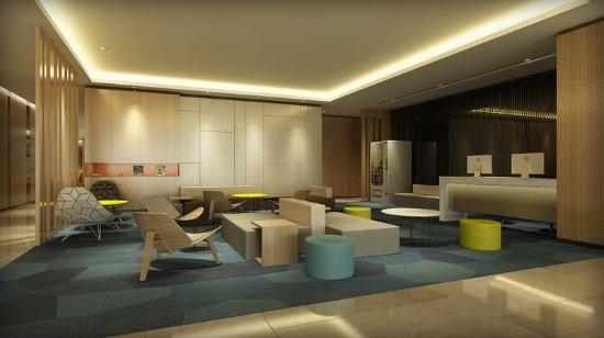 Bengbu, China: Hotel Lobby