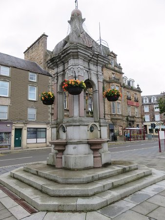 Crieff, UK: fountain