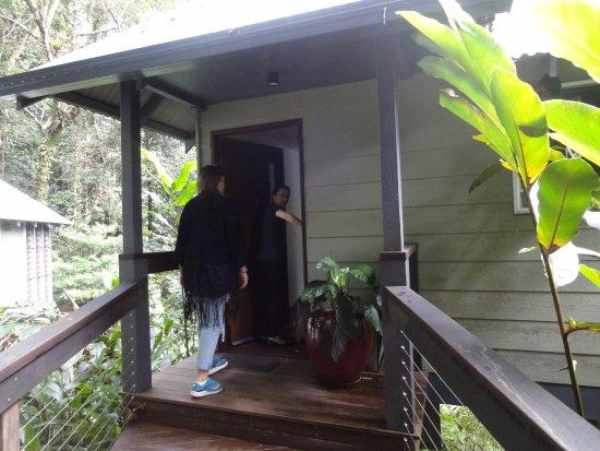 Daintree EcoLodge & Spa: Entrée du bungalow