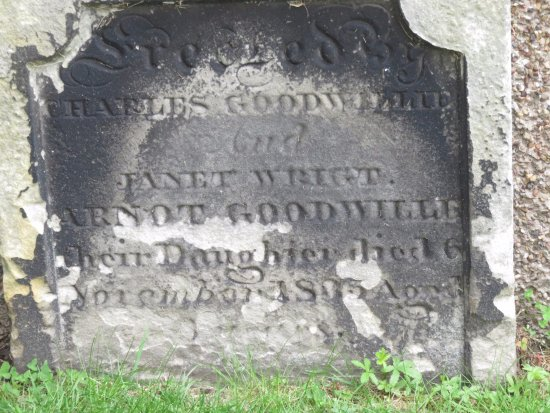 Kinghorn, UK: gravestone