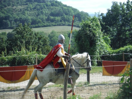 Chalabre, France: Spectacle de chevalerie