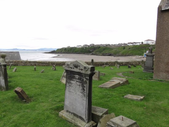 Kinghorn, UK: view to sea