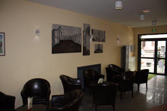 Baccarat, ฝรั่งเศส: Salon réception Hôtel