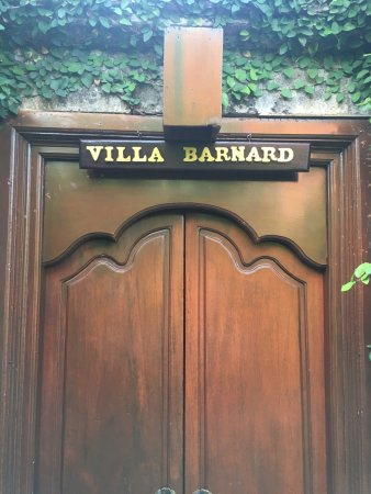 The Pavilions Bali: Our name at the entrance to our villa!