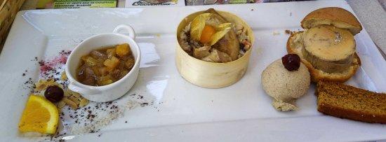 une trilogie de foie gras