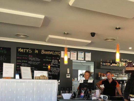 Bundalong, Australia: The friendly cafe