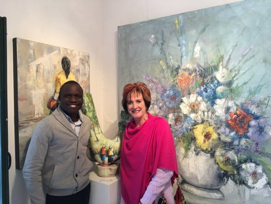 เฮอร์มานัส, แอฟริกาใต้: Artist and Client