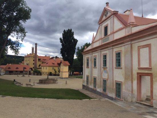 Narodni technicke muzeum Centrum stavitelskeho dEdictvi Plasy
