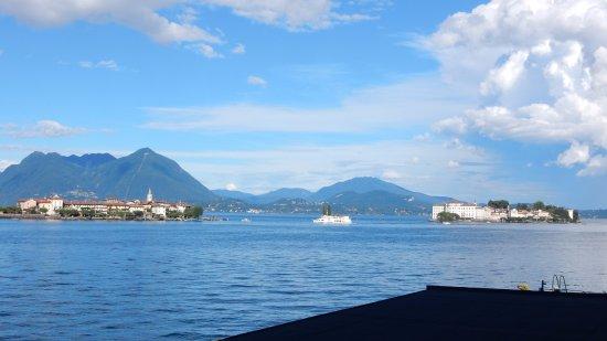 Hotel Romagna: Sicht auf Isola Bella und Superiore