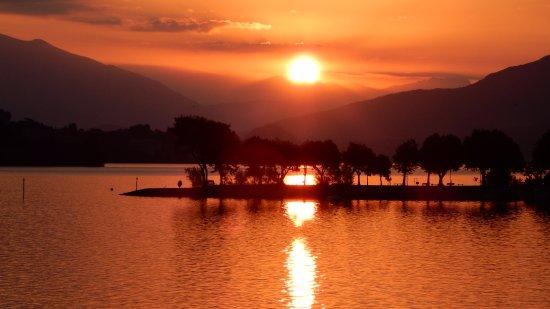 Hotel Romagna: Sonnenaufgang vom Balkon
