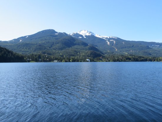 Whistler, Canada: The view from the pier
