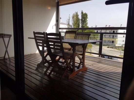 VitaSol Park: Terraza