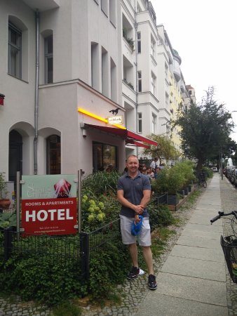 Stars Guesthouse Berlin: front of Guesthouse