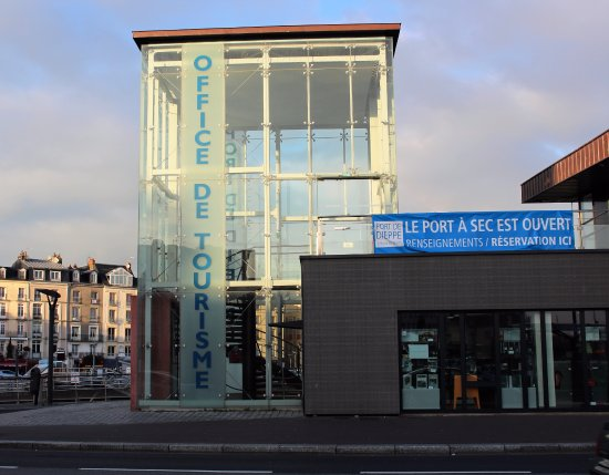 L'Office de Tourisme Dieppe-Maritime